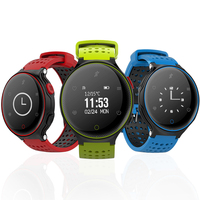 Смарт часы браслет для Windows Phone Спорт Водонепроницаемый IP68 долгого ожидания для плавания X2 носимых Фитнес трекер 0,96 Дисплей