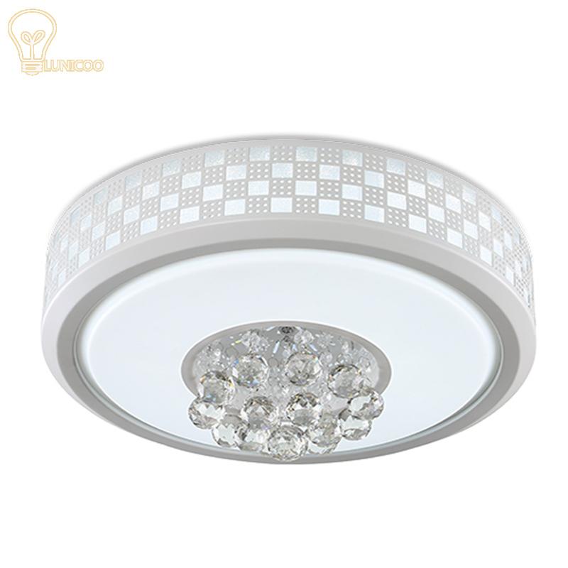 Moderne Kristall Led Deckenleuchte Fr Schlafzimmer Wohnzimmer Fern Plafon Techo Iluminacion Lustre De Plafond