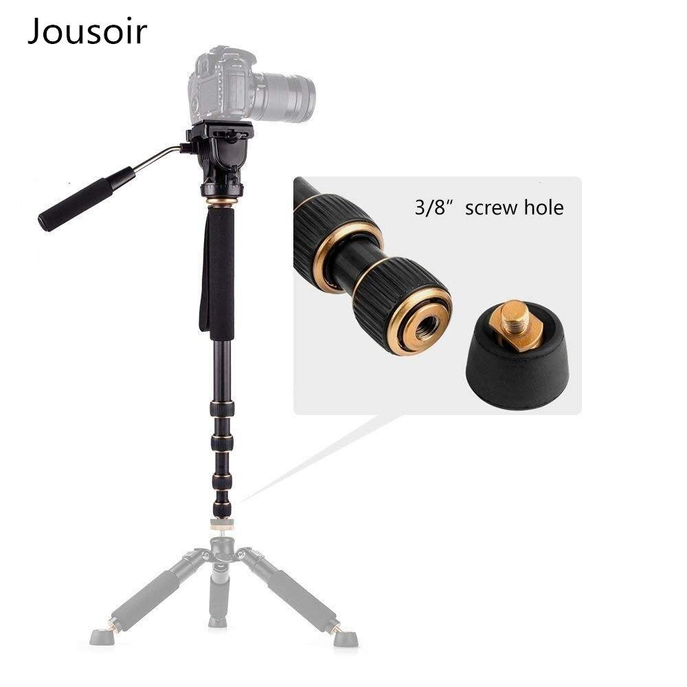 Q188 Portable photographie vidéo monopode à tête fluide léger pour appareil photo reflex numérique prise de vue CD50