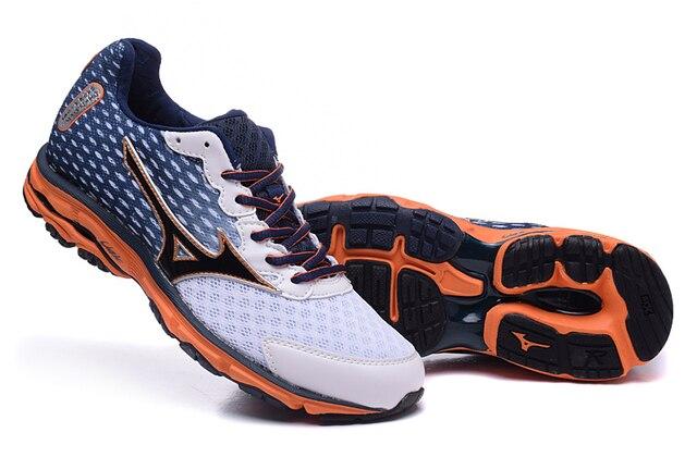 Mizuno MIZUNO Wave Rider 18 профессиональные спортивные мужские туфли стабильный спортивные Вес Подъема Обувь