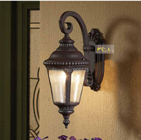 New One Light Aluminum Outdoor Wall Sconces With Cleaning Glass Guaranteed100 Free Shipping