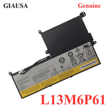 GIAUSA Genuíno L13M6P61 L13S6P61 Bateria Do Portátil Para Lenovo 3ICP4/58/62-2 batteria