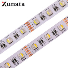 5m/Roll 24V RGBW RGBWW LED Strip Lamp 4 Colors in 1 Led Waterproof 5050SMD 60Leds/m Flexible Tape LED Strip Light(China)