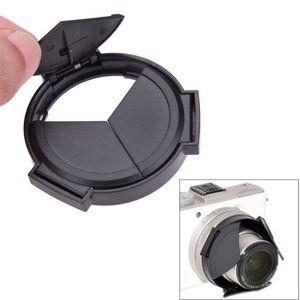Auto tampa de lente retrátil auto aberta e próxima lente capa protetor para panasonic lumix DMC-LX7GK lx7 acessórios da câmera