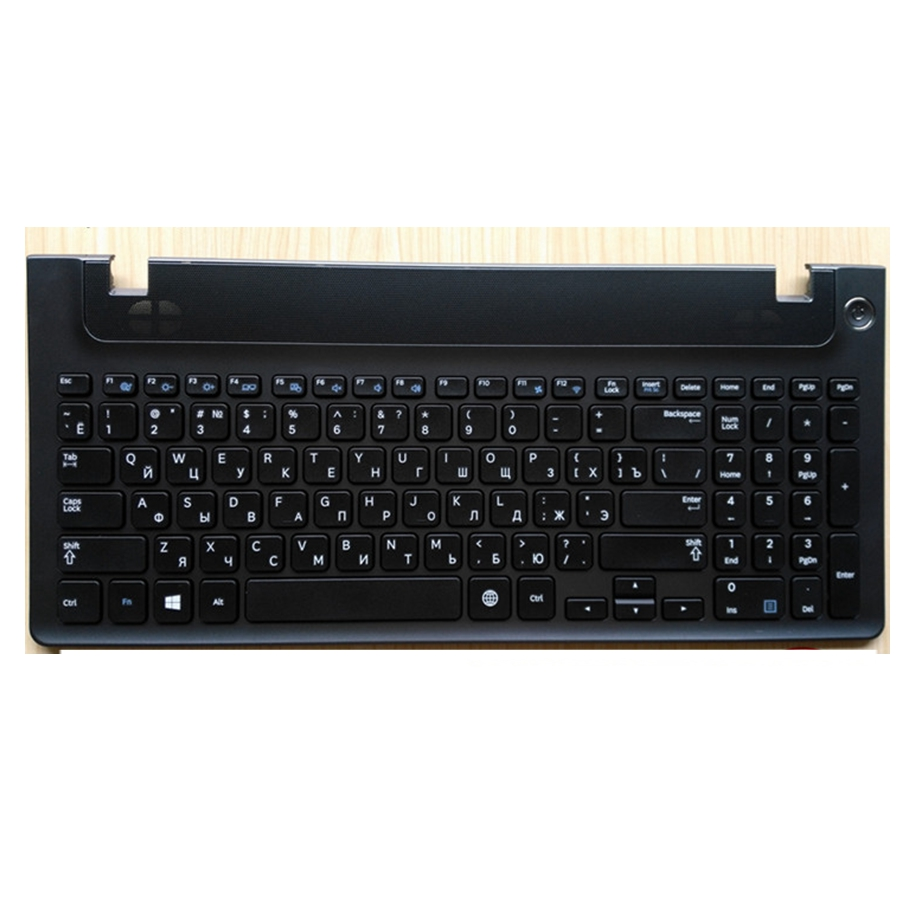 Russian New laptop keyboard with frame for samsung NP 355E5C NP 355V5C NP 300E5E NP350EC NP350V5C BA59-03270C RU keyboard layout keyboard for samsung np r578 np r580 np r590 np e852 np r578 r580 r590 e852 npr578 npr580 npr590 npe852 original engraved to ru