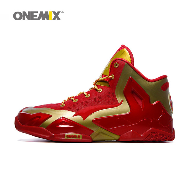 2016 Onemix new arrival mens basketball shoes cheap athletic sport sneakers  antislip basketall boots free shipping 059de568c7a7