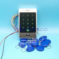 Touch Keypad 125khz RFID Access Control System Proximity Card Standalone 8000 Users Door Access Control Waterproof