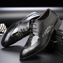 New Men Retro Vintage Dress Shoes Formal Wedding Genuine Leather Shoes Retro Brogue Business Office Men's Flats Oxfords Shoes handmade men dress shoes formal wedding genuine leather shoes retro brogue business office men s flats oxfords for men