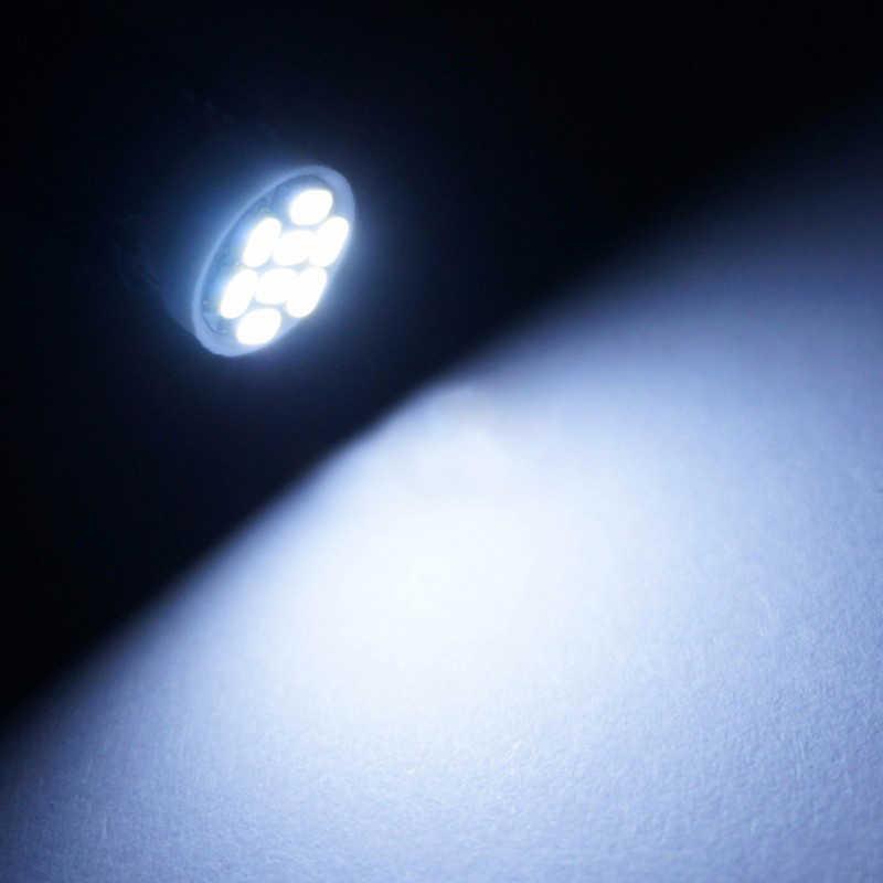 1х автомобильный T10 W5W светодиодный сигнальный лампочка интерьерный купольный светильник для чтения супер яркий Авто багажный багажник номерной знак лампа белый 8SMD