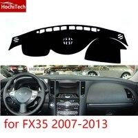 Dashboard mat Koruyucu ped Gölge Yastık Photophobism Ped araba styling Infiniti FX35 için aksesuarlar 2007 2008 09 10 11 12 2013