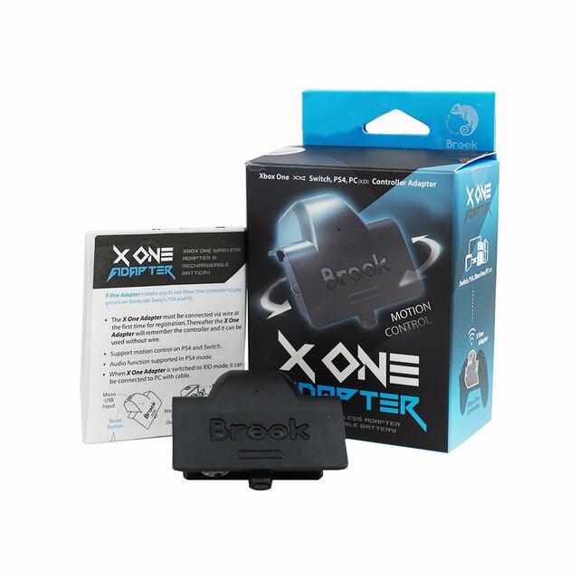 ברוק X אחד מתאם עבור Xbox אחד/עלית עבור PS4 עבור Nintend מתג עבור NS עבור מחשב טורבו אלחוטי בקר & נטענת סוללה