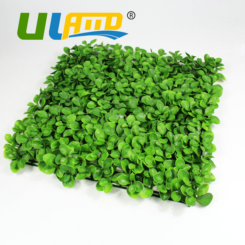 High quality garden fencing panels promotion shop for high quality uland 25x25cmpc artificial green leave plant fencing synthetic boxwood hedge fake landscape ivy panels garden indoor decoration baanklon Image collections