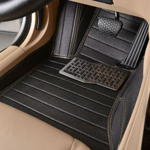 automobile floor mat car rugs set pu leather for Skoda Octavia Fabia Superb Yeti Rapid VOLVO V60 XC90 V40 XC60 S60L S80L