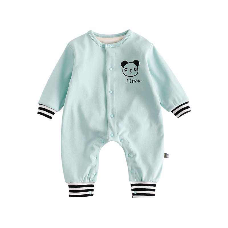 Panda Is My Sprit Animal Short-Sleeve Romper Playsuit For Toddler Size 12 Months Pink