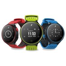 Летом Smart группа крови Давление часы X02 Смарт-часы браслет монитор сердечного ритма Смарт Беспроводной фитнес для Android IOS