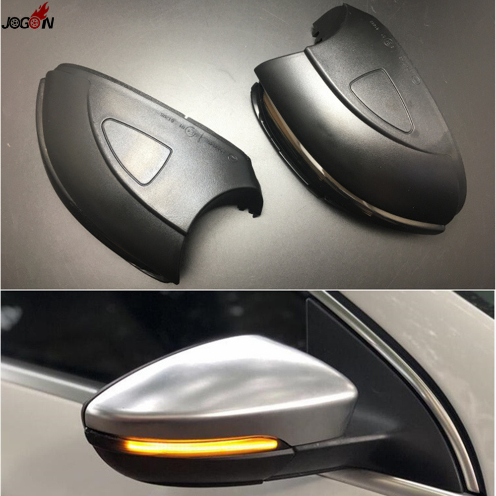 Dynamic Turn Signal LED Side Wing Rearview Mirror Indicator Blinker Repeater Light Lamp For VW GOLF