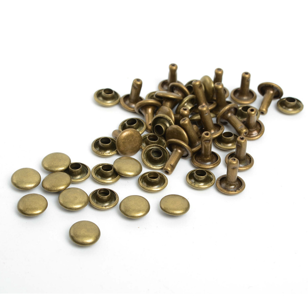 WINDING CHECK BRASS BRIGHT COPPER PLATED KNURLED OUTER EDGE