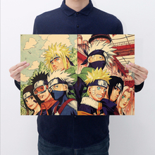 Naruto & Friend Wall Poster 51×35.5CM