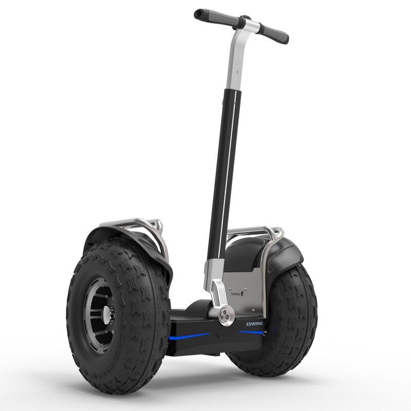 CE certificat APP Contrôle Auto Équilibrage Scooter Électrique 2400 watt Offroad citycoco électrique scooter