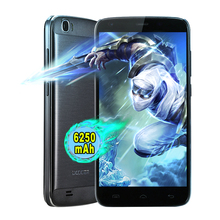 Original DOOGEE T6 PRO 6250 mAh Smartphone Android 6.0 MT6753 Octa Core HD de 5.5 Pulgadas 1.5 GHZ 3 GB RAM 32 GB ROM 13.0MP 4G Teléfono Móvil