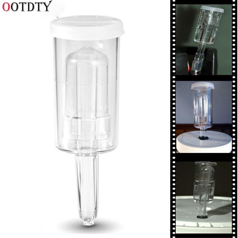OOTDTY 1pc Fermentor Airlock (Air Lock) W/ Grommet For Homebrew Beer & Wine Making