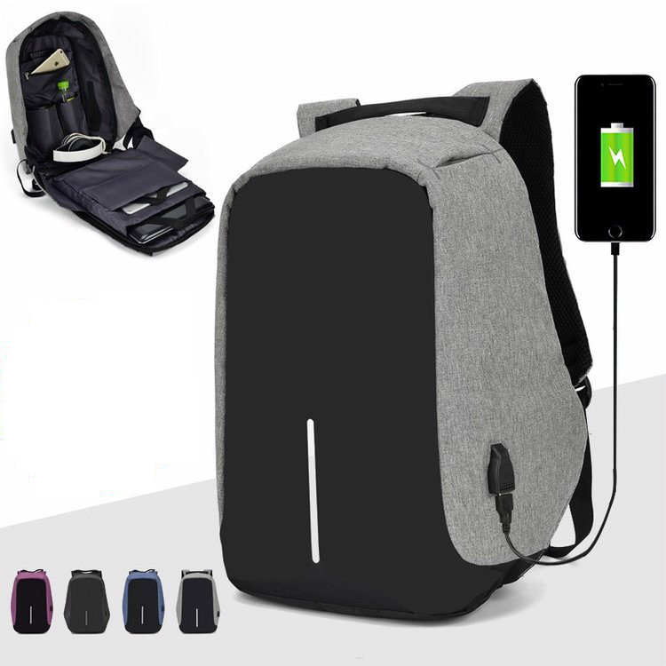 Anti-theft Backpack Bag 15.6 Inch Laptop Notebook Mochila Male Waterproof Back Pack Backbag Large Capacity School Backpack image