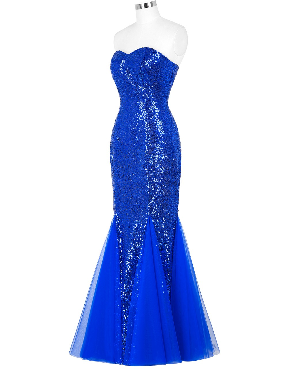 Blue Red White Black Mermaid Prom Dresses Grace Karin Luxury Gold Appliques  Floor Length Party Dress Formal Gowns Prom DressesUSD 60.68 piece 96c6463cf73e