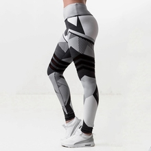 Fitness Women Yoga Pant Print Tight Trouser Sportswear Running Pant Sports Legging