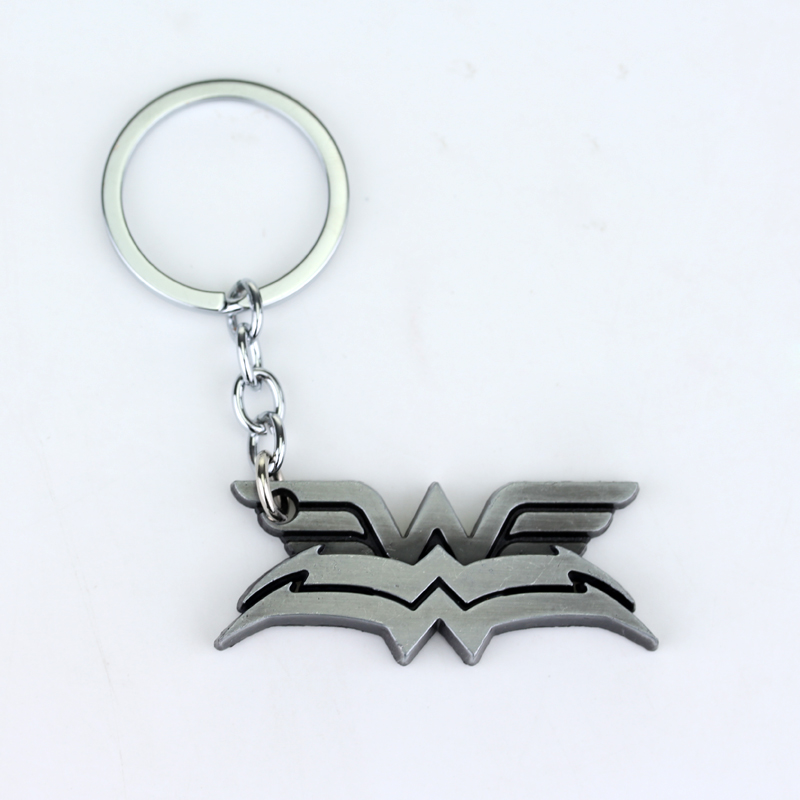 dongsheng Marvel Wonder Woman Keychains Hero The Avengers Keychain The Avengers The Amazing Spider Man Peter Parker Llavero