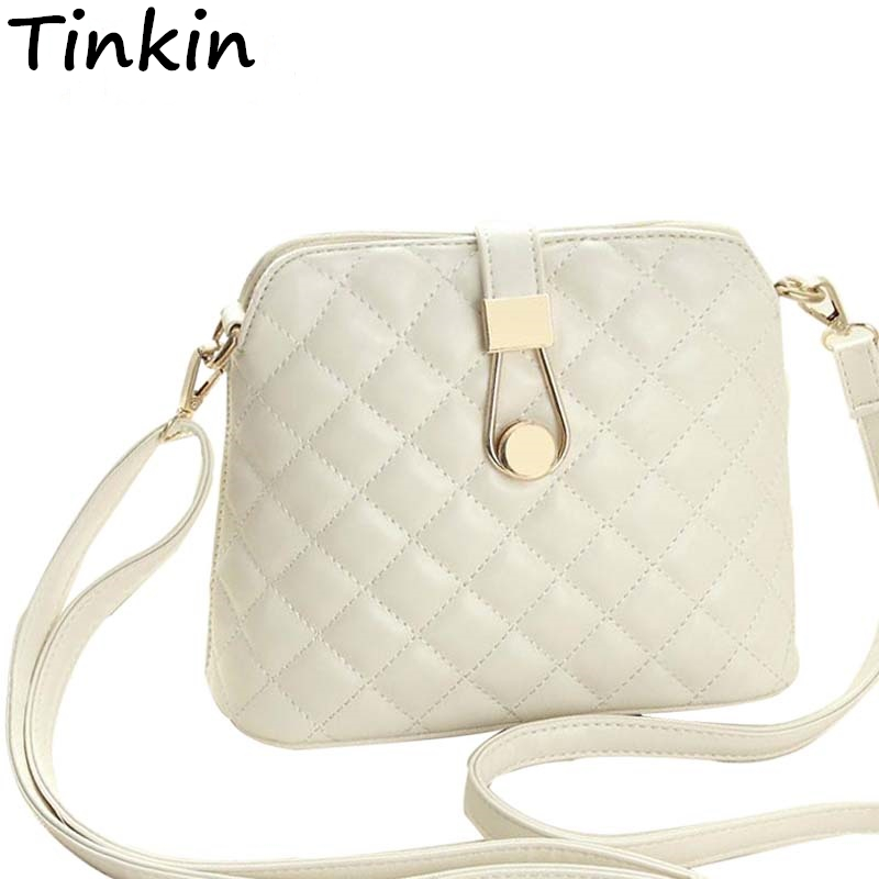 Tinkin Small Autumn Shell Bag Fashion Embroidery Shoulder Bag New Women Messenge