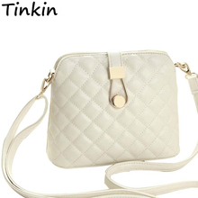 Tinkin Small Autumn Shell Bag Fashion Embroidery Shoulder Bag New Women Messenger Bag Hot Sale Messenger Bag