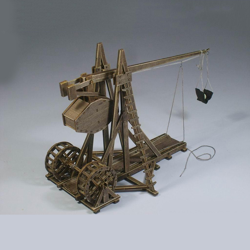 Classic ancient chariots The Age of empires model kits Trebuchet - Heavy catapult model for children toys gift image
