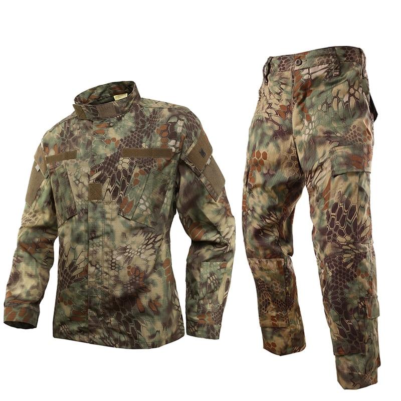Seragam Tugas Kryptek / Kryptek seragam taktis BDU / seragam Militer AS Mardrake (jaket & celana)