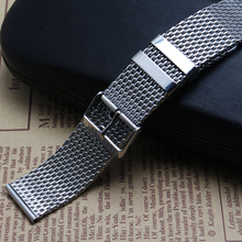 Shark Mesh Watch bracelets Watchbands Fashion Watches accessories 18mm 20mm 22mm 24mm classic belt for Brand