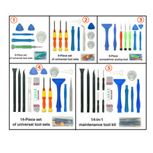 цена на Durable Phone Repair Tool Kit Metal Pry Bar Mobile Phone Disassemble Opening Tools Kit for iPhone Samsung PC DIY Screwdriver Set