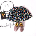 2017 New Baby Girl Spring Summer Skirts Clothes Girls Kids Floral Skirt Wholesale 5pcs/lot