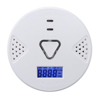 New CO Detector Voice LED Warning CO Detector Carbon Monoxide Sensor Alarm Home Security Tester For