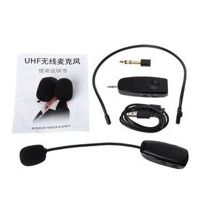 Image 5 - Neue UHF Wireless Mikrofon Professionelle Kopf tragen Mic für Stimme Verstärker Computer