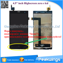 4.5″inch Touch Panel For HighScreen Zera S Rev.S LCD Screen Digitizer Panel Display Replacement