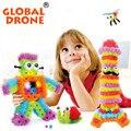 400 unids ladrillos bloques de los niños regalos de navidad enlighten thorn bola mini bloques juguetes educativos de aprendizaje para 3 años de edad los niños