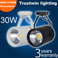 2 pieces COB LED track light 30W LED track spot light ceiling LED track spotlight 30W LED track spot