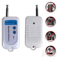 Free Shipping Wireless Signal Detector Anti Mini Spy Camera RF Ghost Sensor 100-2400MHz GSM Alarm Device Radio Frequency check
