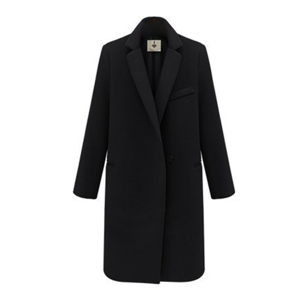 Popular Ladies Black Coat-Buy Cheap Ladies Black Coat lots from ...