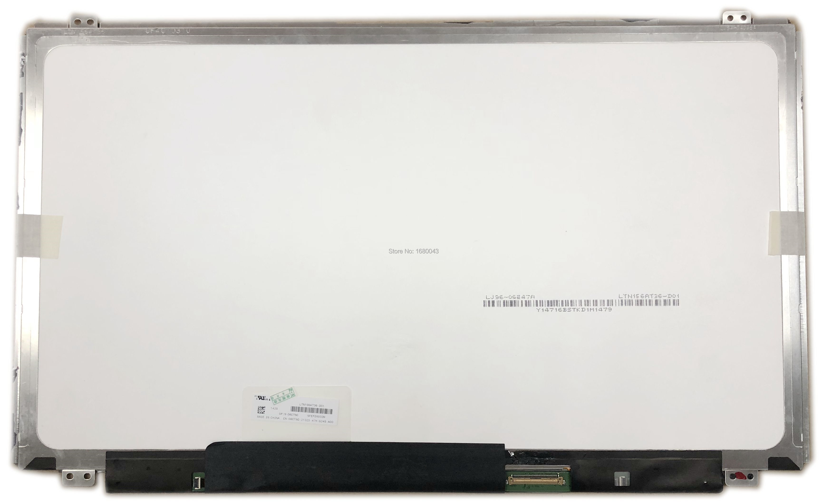 LTN156AT36 D01 fit LTN156AT36-D01 With TOUCH SCREEN Digitizer LED Display Laptop Screen 40 pins for DELLLTN156AT36 D01 fit LTN156AT36-D01 With TOUCH SCREEN Digitizer LED Display Laptop Screen 40 pins for DELL