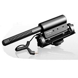 Foleto TAKSTAR SGC-598 Condenser Recording Microphone recorder For Nikon D7100 D5200 D3200 D800 D600 D800E D7000 D90 D5100 D3100