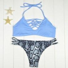 2017 Sexy Brazilian Bikinis Women Swimwear Swimsuit Push Up Bikini Set Halter Top Beach Bathing Suits Swim Wear