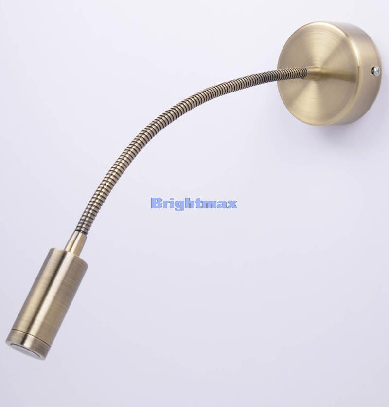 S025b 13a antique brass cree 3w led reading light led wall light s025b 13a antique brass cree 3w led reading light led wall light hotel light bedside lamp in led spotlights from lights lighting on aliexpress aloadofball Choice Image