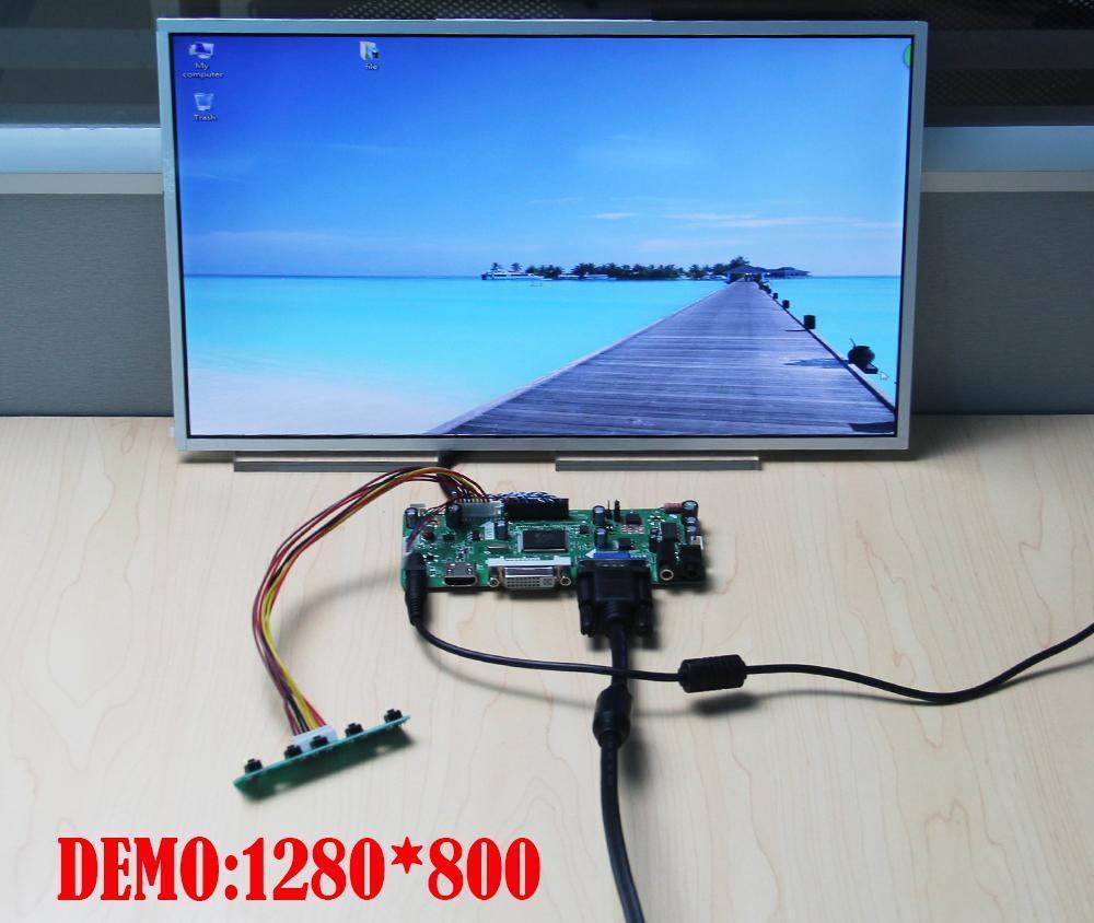 Image 5 - Kit for B156XW02/LTN156AT02 Controller board Panel Screen VGA DVI  HDMI LCD 15.6 LVDS 40pin Monitor M.N68676 1366X768 LED DIYLaptop  Repair Components