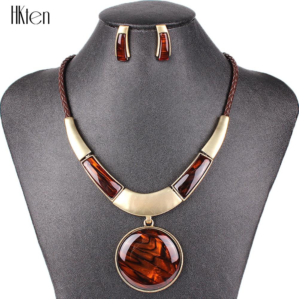 MS20129 moda marca sistemas de la joyería colgante redondo 5 colores Faux cuero cuerda de alta calidad precio al por mayor regalos del partido