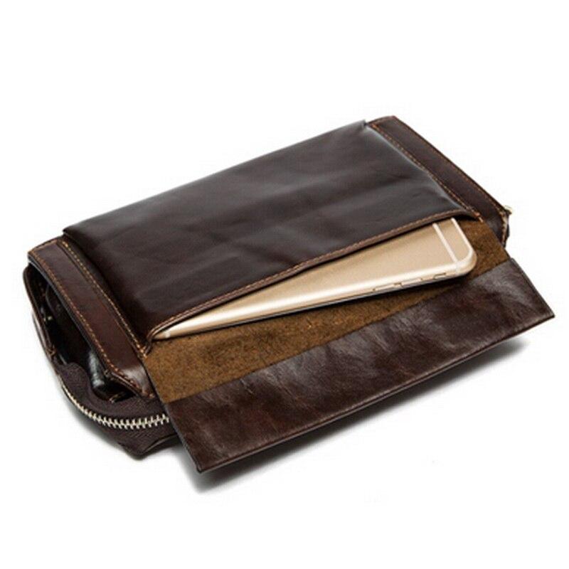 WESTAL äkta läder mäns plånböcker för kreditkort plånbok - Plånböcker - Foto 6